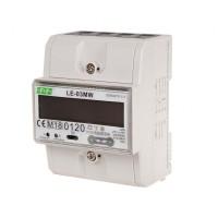 Счетчик электроэнергии LE-03MW,  3-фазный, Modbus RTU