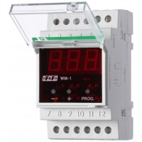 Указатель мощности напряжения и тока WM-1, 0,5-10 кВт, 1-50 А, 100-300 В