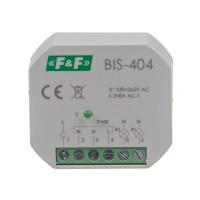 Реле импульсное BIS-404, две секции, 220В, 2х5 А