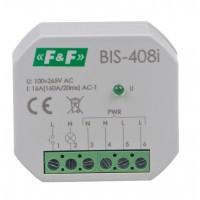 Бистабильное реле BIS-408LED, 16А, защита от пускового тока