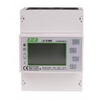 LE-03MB Трехфазный счетчик активной и реактивной энергии, M-BUS, 100(5)А