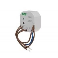 Реле управления роллетами F&F STR-1 напряжение 230V AC, двухкнопочное
