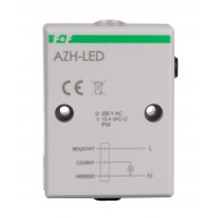 Сумеречное реле F&F AZH-LED, 10А