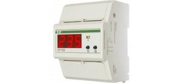 Нове реле захисту від перевищення та зниження рівня напруги CP-722
